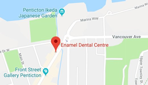 Enamel-Dental-Centre-Penticton-Dentist-Map
