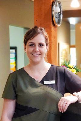 Enamel Dental Centre Penticton Dentist Team Photo Kym